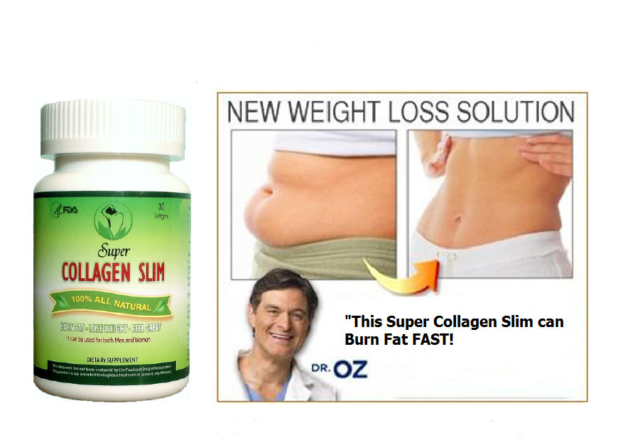 Now you can choose Super Collagen Slim to accomplish their weight loss ...